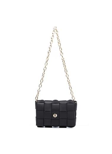 TH Bags Kadın Çapraz Çanta TH-DR050600 Siyah
